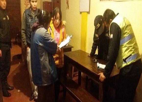 Mega operativo Sectorial Cusco