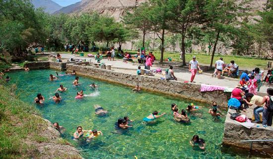 El intrigante Churín y sus naturales aguas termales en Mamahuarmi